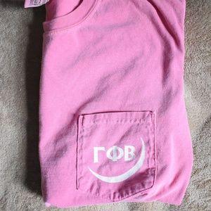 Pink Gamma Phi Beta T-Shirt